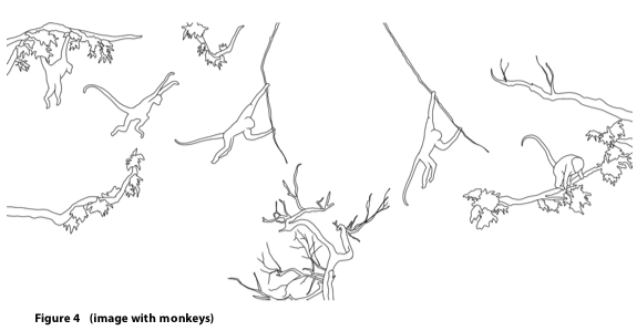 "The monkey leaping from one branch to another is an example of anticipation guiding its actions. If the chosen branch is too weak, or if it were to break, the monkey would be hurt or even lose its life. Scientists ""married"" to determinism would say that the monkey ""calculated"" its choices. It turns out that if such a calculus were possible, it would require computational performance far exceeding all the computational capabilities available today. The choices made by monkeys are based on accumulated experience, some of which is transmitted genetically and some of which is acquired through learning."