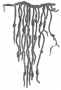 Fig. 11 The Incan quipu