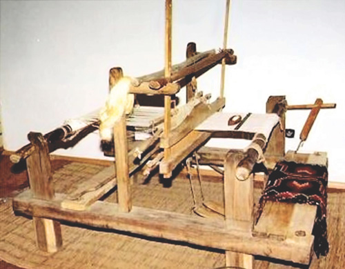 Fig. 1. Război de Å£esut—a loom from the Bran region in Romania