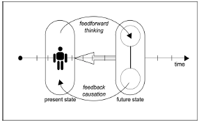 Fig. 1. Feedforward in an anticipatory system