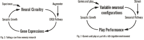 Figure 5. From drug-based memory enhancement to game-based behavioral therapy