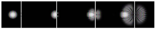 Figure 9: Classic double slit experiment. The image is supposed to provide information about processes that seem teleological (driven by a purpose).